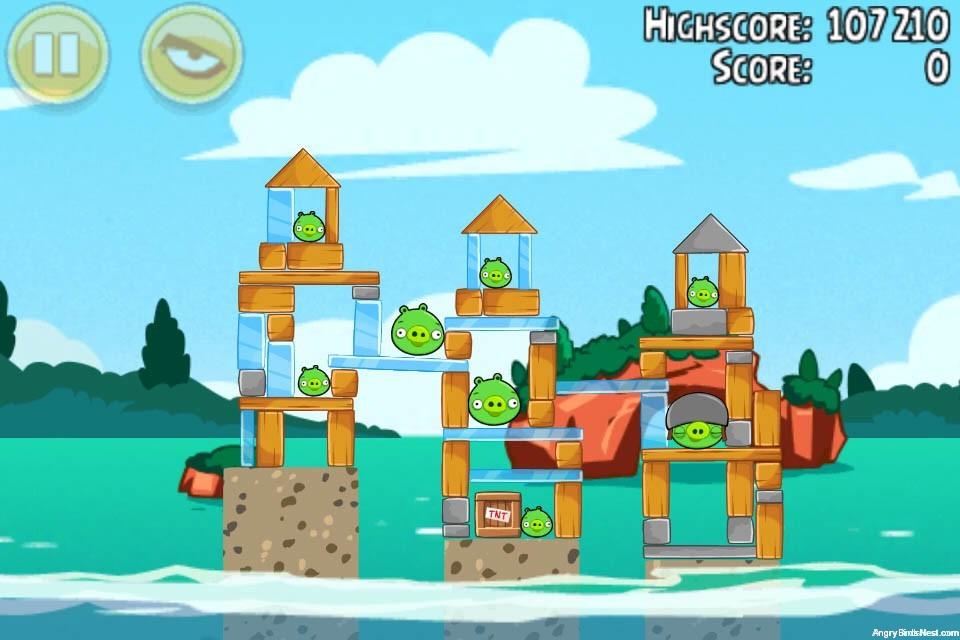 Angry Birds Seasons Piglantis Level 2-9 Walkthrough ...