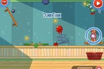 Amazing Alex Level 3-8 Alex's Bedroom Dunk Tank Walkthrough