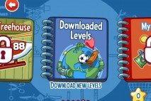 Amazing Alex Download Levels Selection Screen
