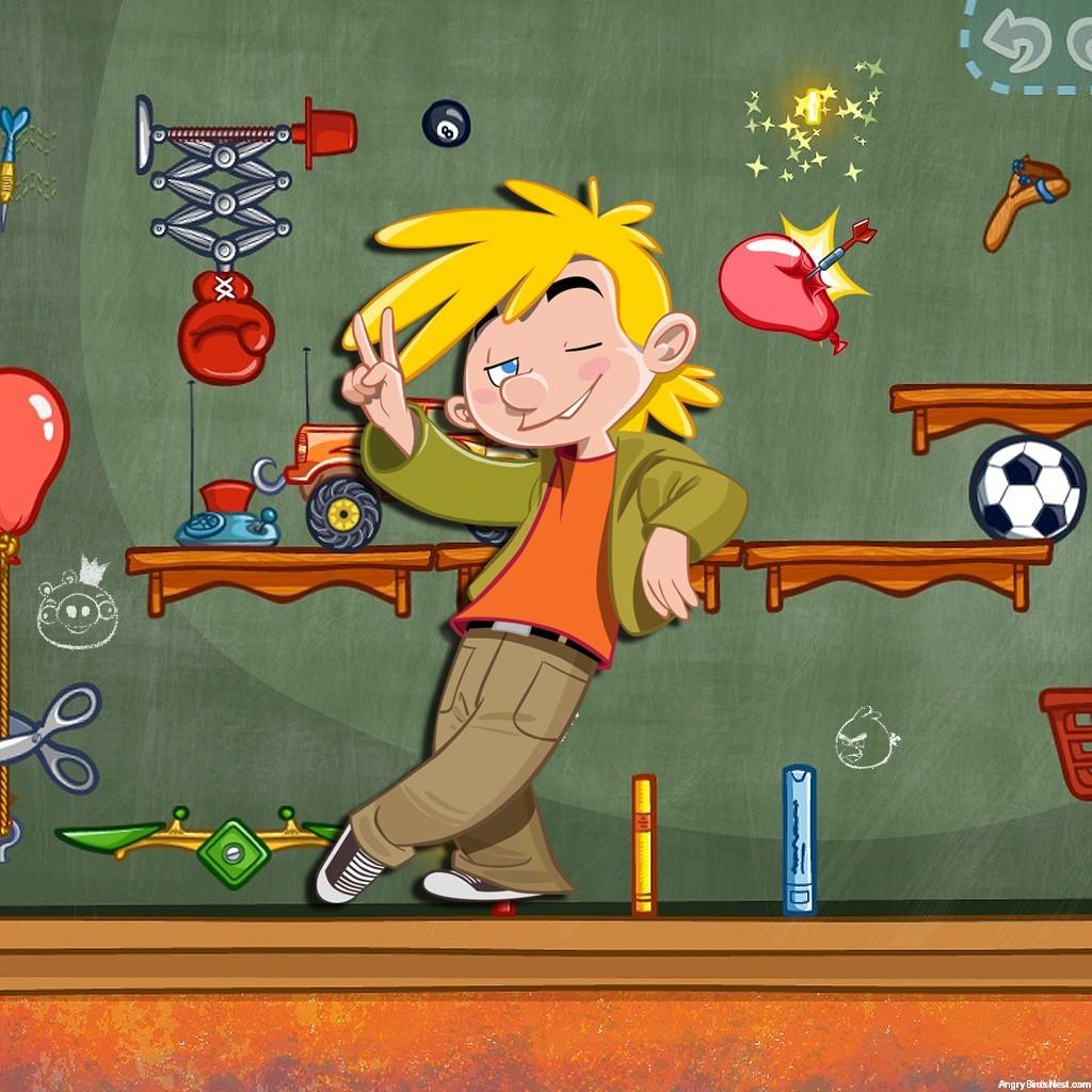 Amazing Alex Kickin It iPad Background