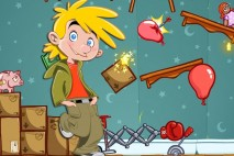 Amazing Alex Rube Goldberg iPad Background