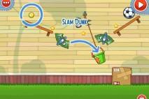 Amazing Alex The Backyard Level 2-10 Slam Dunk Walkthrough