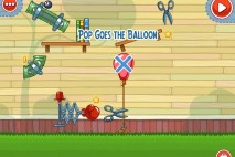 Amazing Alex The Backyard Level 2-23 Pop Goes the Balloon Walkthrough
