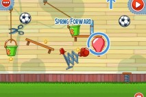 Amazing Alex The Backyard Level 2-25 Spring Forward Walkthrough