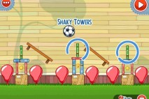 Amazing Alex The Backyard Level 2-27 Shaky Towers Walkthrough