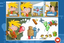 Amazing Alex The Classroom Intro Comic Screen