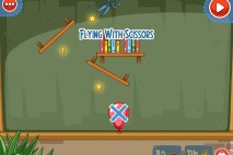 Amazing Alex The Classroom Level 1-12 Flying with Scissors Walkthrough