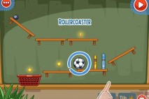 Amazing Alex The Classroom Level 1-4 Rollercoaster Walkthrough