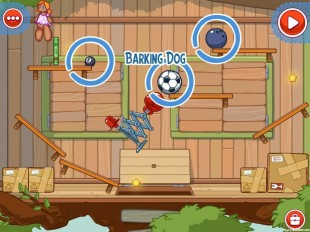 Amazing Alex Level 4-10 The Treehouse Barking Dog Walkthrough