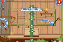 Amazing Alex Level 4-25 The Treehouse Particle Accelerator Walkthrough