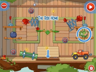 Amazing Alex Level 4-26 The Treehouse The Ride Home Walkthrough