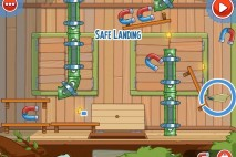 Amazing Alex Level 4-31 The Treehouse Safe Landing Walkthrough