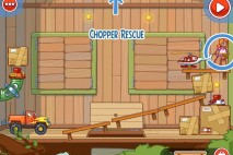 Amazing Alex Level 4-5 The Treehouse Chopper Rescue Walkthrough