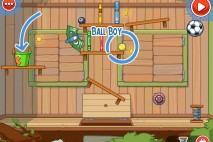 Amazing Alex Level 4-7 The Treehouse Ball Boy Walkthrough