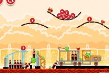 Angry Birds Coca-Cola Level #8 Walkthrough