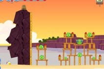 Angry Birds Facebook Pigini Beach Level 10 Walkthrough