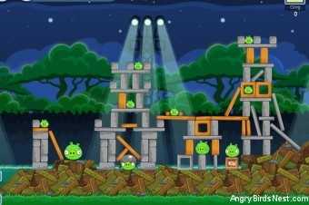 Angry Birds Friends Tournament Level 1 – Week 8 – July 9th