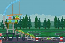 Angry Birds Heikki Hockenheim Walkthrough