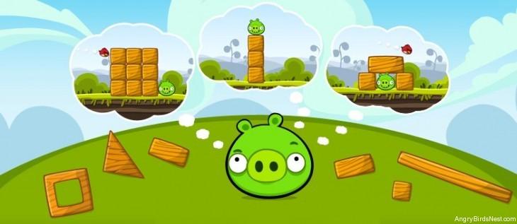 Angry Birds King Pig Hurt
