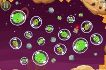 Angry Birds Space Utopia Bonus Level S-10 Walkthrough