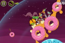 Angry Birds Space Utopia Level 4-11 Action Shot