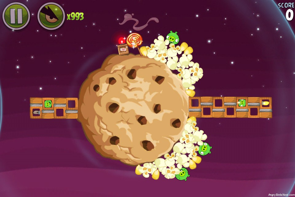 Angry Birds Space Utopia Level 4-12