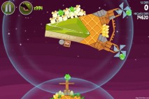 Angry Birds Space Utopia Level 4-15 Walkthrough