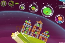 Angry Birds Space Utopia Level 4-21 Walkthrough