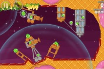 Angry Birds Space Utopia Level 4-27 Walkthrough