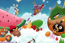 Angry Birds Utopia Desktop Background by Hayyie