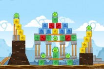 Angry Birds Chrome Dimension Level #15 Walkthrough