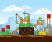 Angry Birds Chrome Logo Location Level 9-14