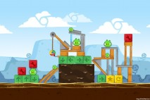 Angry Birds Chrome Dimension Level #16 Walkthrough