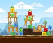 Angry Birds Chrome Logo Location Level 10-15