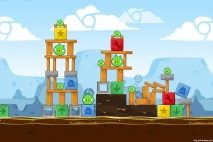 Angry Birds Chrome Dimension Level #17 Walkthrough