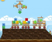 Angry Birds Chrome Logo Location Level 11-3