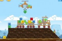 Angry Birds Chrome Dimension Level #18 Walkthrough