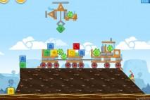 Angry Birds Chrome Dimension Level #18 Walkthrough