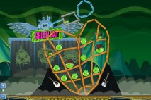 Angry Birds Friends Green Day Level 1 Walkthrough