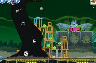 Angry Birds Friends Green Day Level 3 Walkthrough
