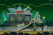 Angry Birds Friends Green Day Level 5 Walkthrough