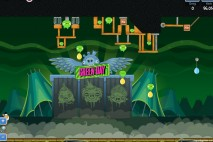 Angry Birds Friends Green Day Level 6 Walkthrough