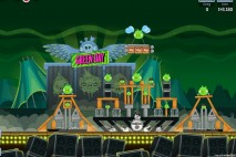 Angry Birds Friends Green Day Level 9 Walkthrough