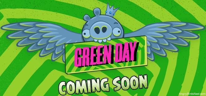 Angry Birds Green Day Web Game Coming Soon Angrybirdsnest