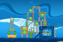 Angry Birds Intel Ultrabook Adventure Level 1 Walkthrough