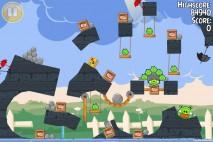 Angry Birds Seasons Back to School Golden Egg #36 Walkthrough
