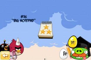 Angry Birds Seasons Back to School Golden Eggs Walkthroughs