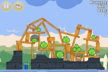 Angry Birds Seasons Back to School Level 1-11 Walkthrough