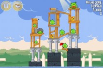 Angry Birds Seasons Back to School Level 1-12 Walkthrough