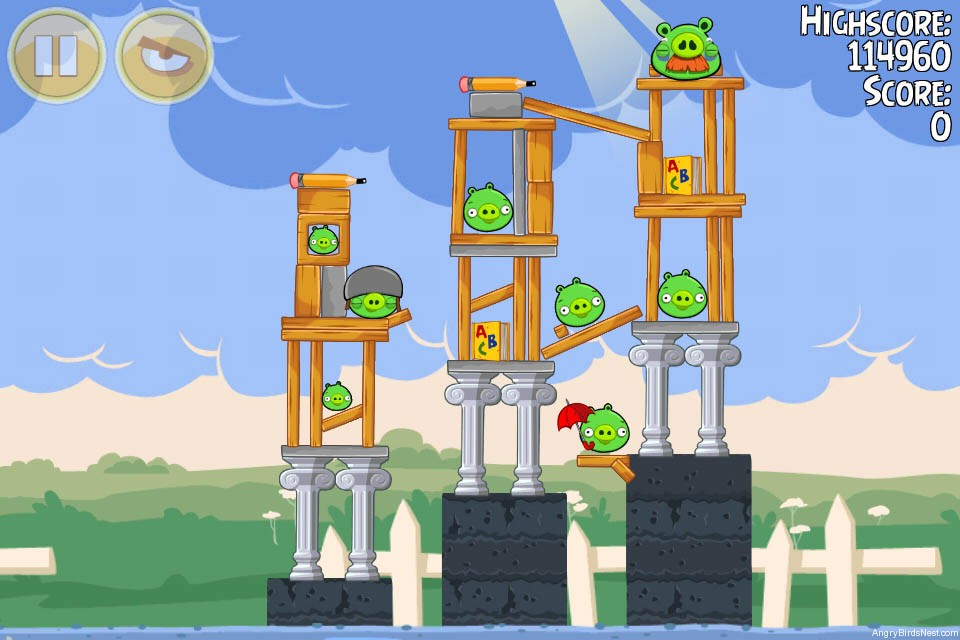 angry birds nest eggsteroids